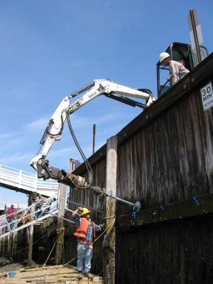 Tieback Anchors Retaining Walls   Helical Tieback Anchor